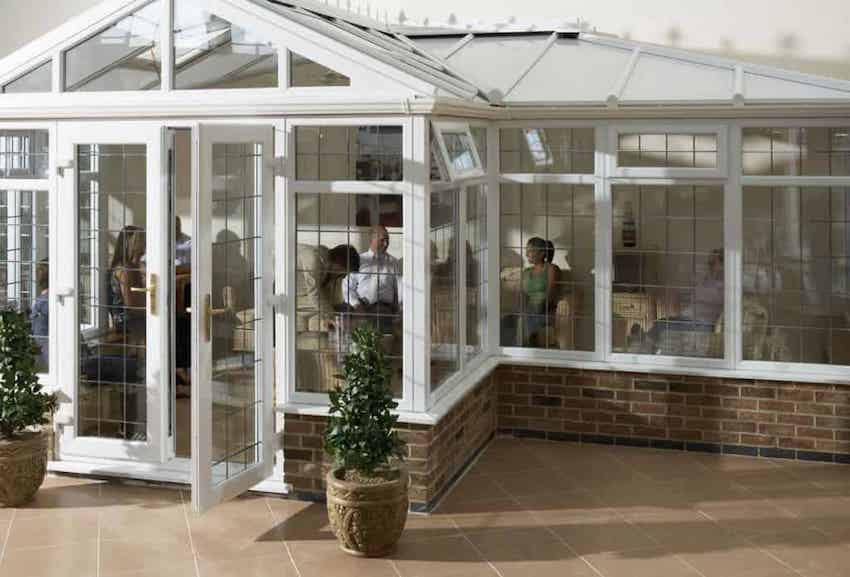 p-shaped conservatory Ilkley