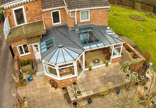 P shaped Conservatory designs Leeds