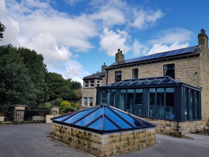 Oates family edwardian conservatory