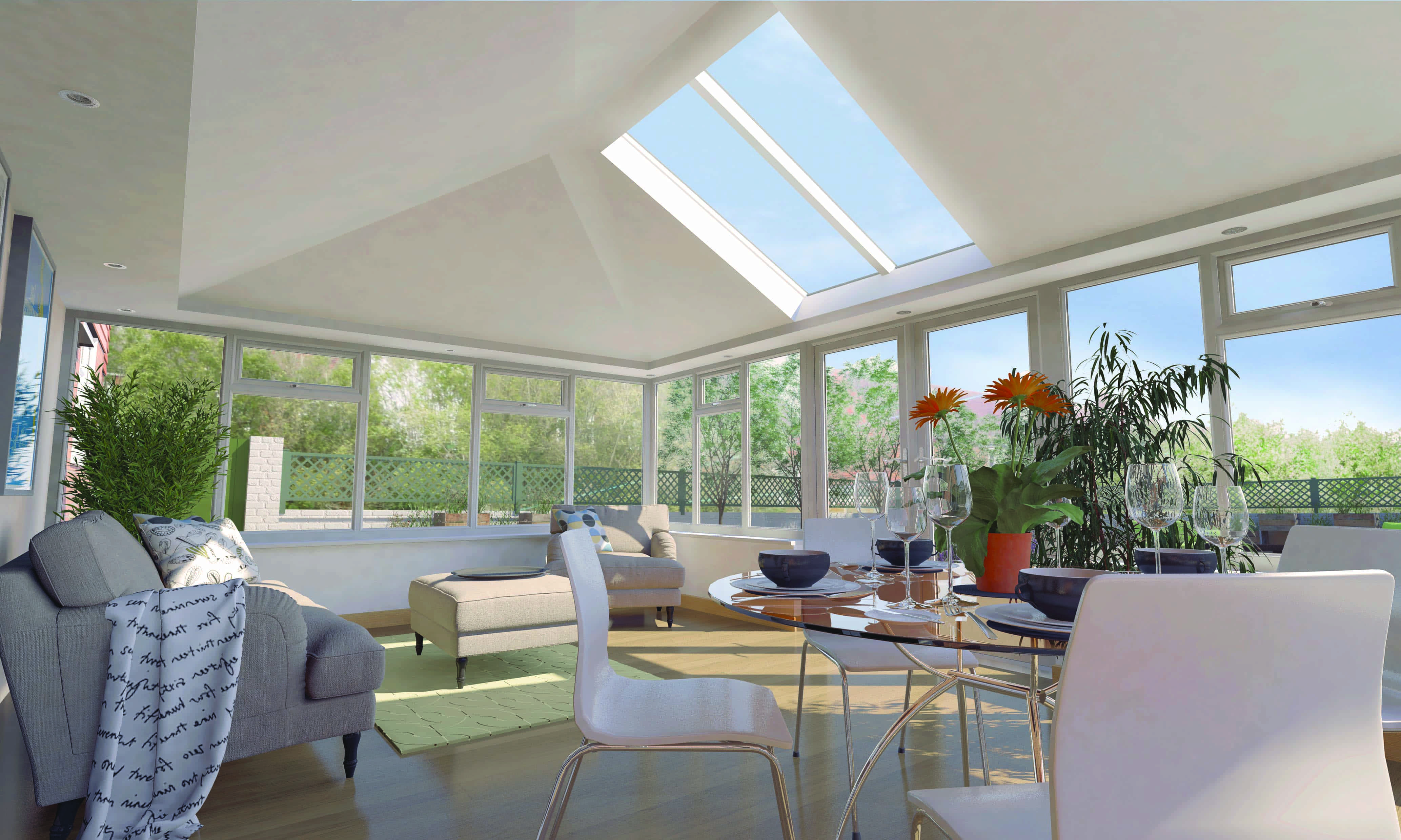 Solid Roof Conservatory Crossgates